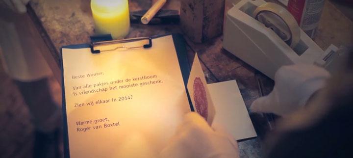 Brief van Roger van Boxtel aan Wouter Bos