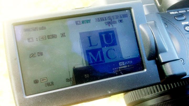 LUMC voor de lens