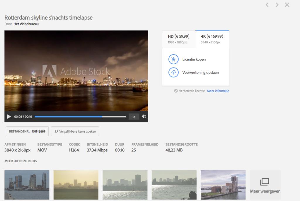 printscreen Het Videobureau op Adobe Stock